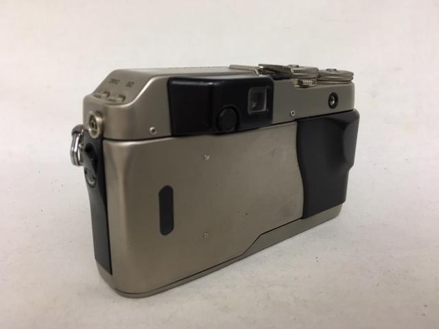 【大黒屋】激安1円~ CONTAX コンタックス 一眼レフ フィルムカメラ G1 レンズ Carl Zeiss Planar 2/45 フラッシュ TLA140 中古ジャンク品_画像4