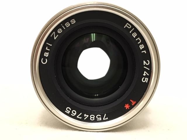 【大黒屋】激安1円~ CONTAX コンタックス 一眼レフ フィルムカメラ G1 レンズ Carl Zeiss Planar 2/45 フラッシュ TLA140 中古ジャンク品_画像8