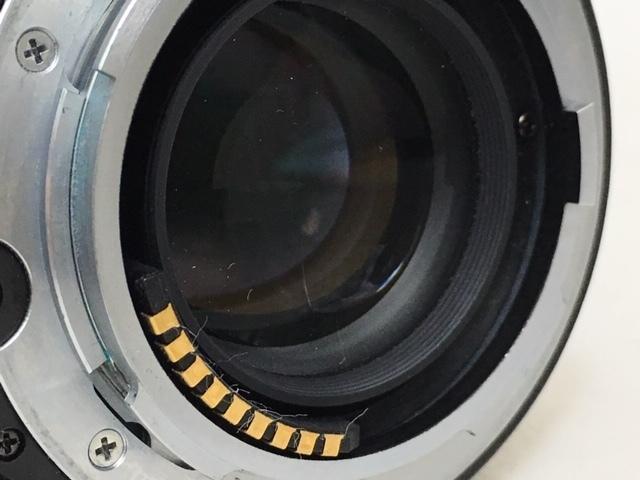 【大黒屋】激安1円~ CONTAX コンタックス 一眼レフ フィルムカメラ G1 レンズ Carl Zeiss Planar 2/45 フラッシュ TLA140 中古ジャンク品_画像10