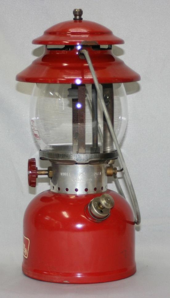 【燃焼OK】コールマン 200A ランタン 67/3 パテペン 箱・説付き / レア・廃盤 coleman ヴィンテージ_画像4