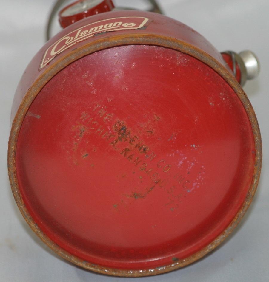 コールマン【燃焼OK】200A ランタン 72年7月 / レア・廃盤 coleman ヴィンテージ_画像10