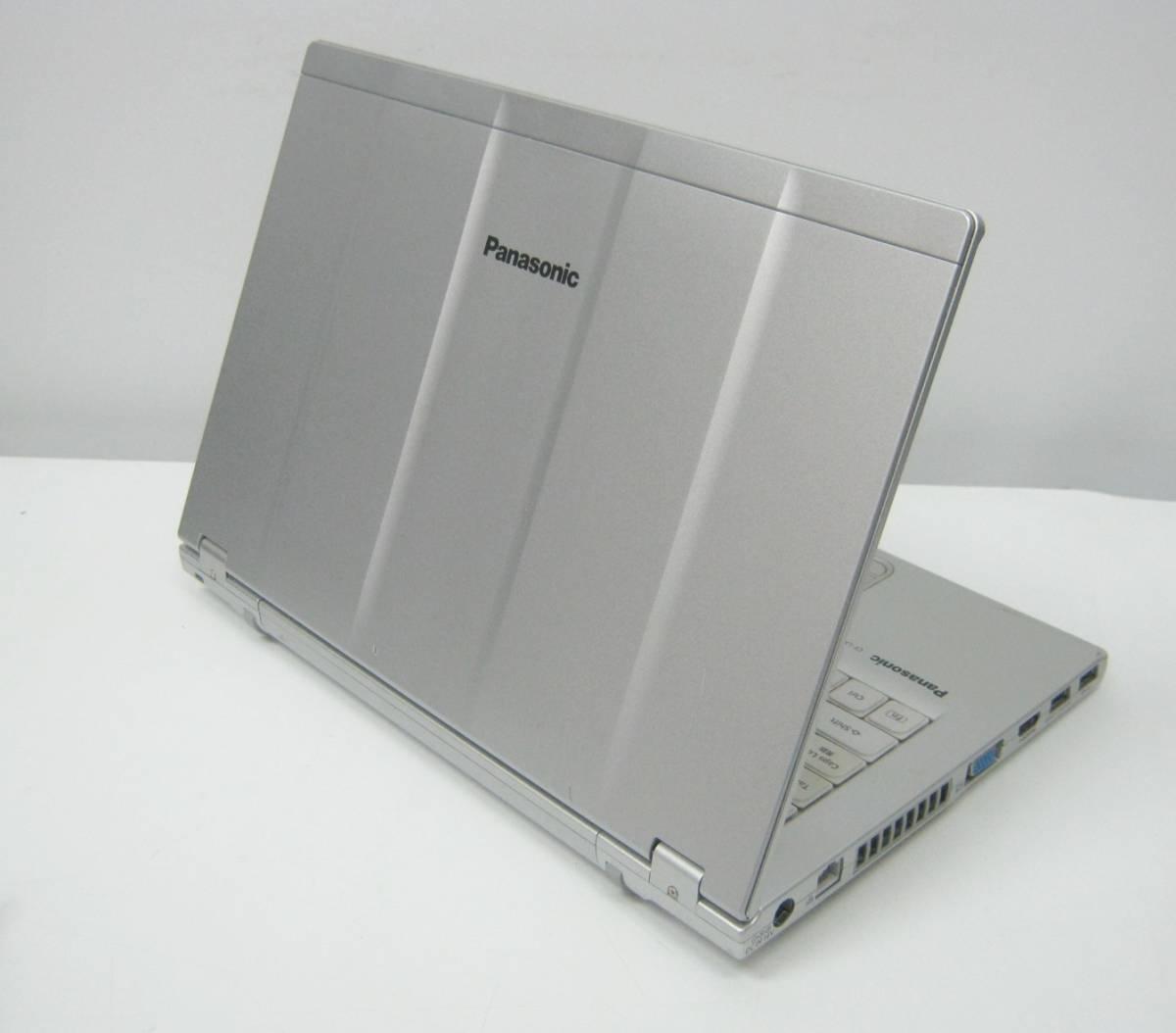 994 ストレージ欠品等ジャンク CF-LX3ED8CS i5-4300U 1.9GHz 4GB 簡易確認 部品取りにも_画像2