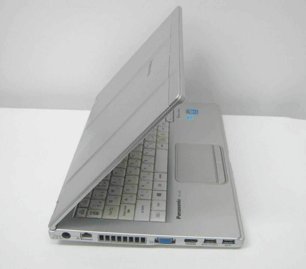 994 ストレージ欠品等ジャンク CF-LX3ED8CS i5-4300U 1.9GHz 4GB 簡易確認 部品取りにも_画像5