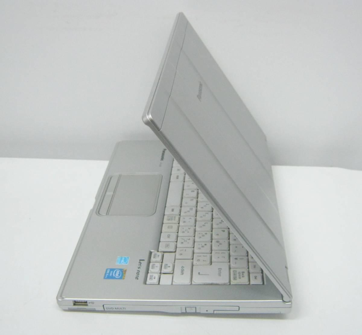 994 ストレージ欠品等ジャンク CF-LX3ED8CS i5-4300U 1.9GHz 4GB 簡易確認 部品取りにも_画像4