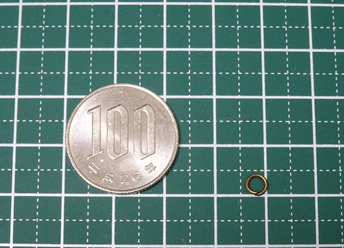 丸カン 金古美 4mm 約100個 / 丸カン アンティークゴールド 0.4 レジン DIY ハンドメイド パーツ 大量 キット 型 枠_画像4