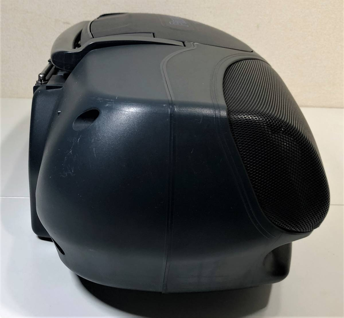 当時物 パナソニック CDバブルラジカセ Panasonic RX-DT95 コブラトップ仕様、ジャンク扱い_画像9