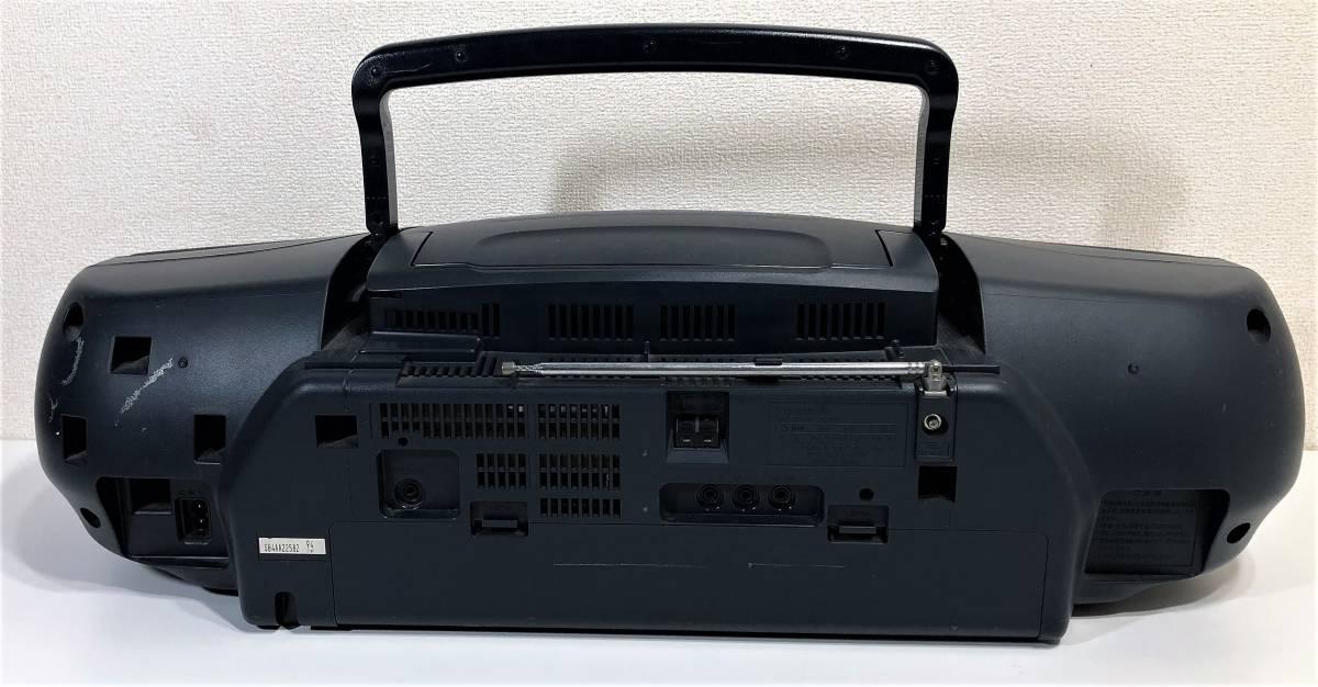 当時物 パナソニック CDバブルラジカセ Panasonic RX-DT95 コブラトップ仕様、ジャンク扱い_画像6