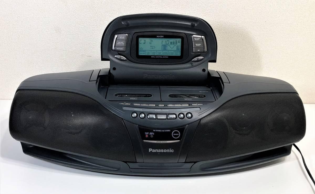 当時物 パナソニック CDバブルラジカセ Panasonic RX-DT95 コブラトップ仕様、ジャンク扱い