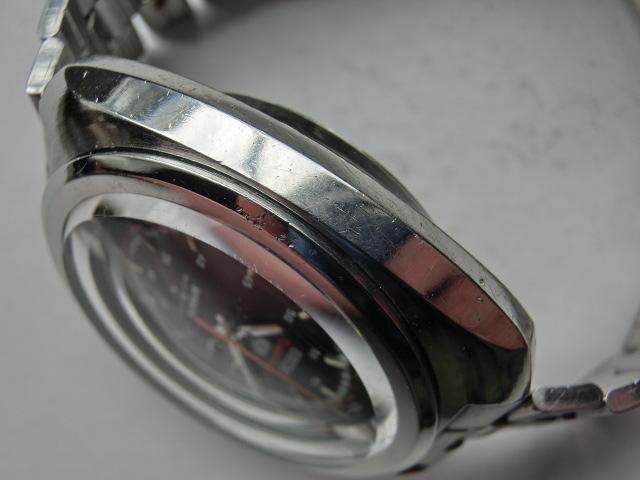 セイコー メンズ腕時計 5スポーツスピードタイマー クロノグラフ オートマチック 自動巻き 7017 黒文字盤_画像5