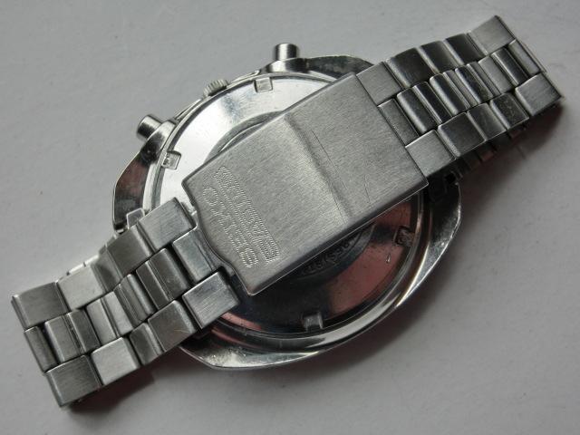 セイコー メンズ腕時計 5スポーツスピードタイマー クロノグラフ オートマチック 自動巻き 7017 黒文字盤_画像7
