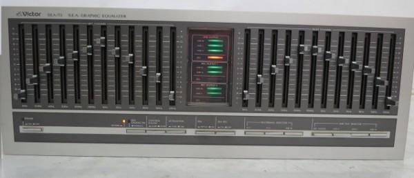 HR199H VICTOR ビクター SEA-70 グラフィックイコライザー グライコ オーディオ 音響機器 ミュージック 通電確認済 SEA70