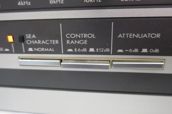 HR199H VICTOR ビクター SEA-70 グラフィックイコライザー グライコ オーディオ 音響機器 ミュージック 通電確認済 SEA70_画像5