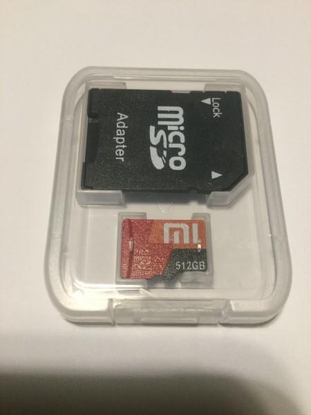送料込み 512GB!MicroSDカード マイクロSD sdxc #041
