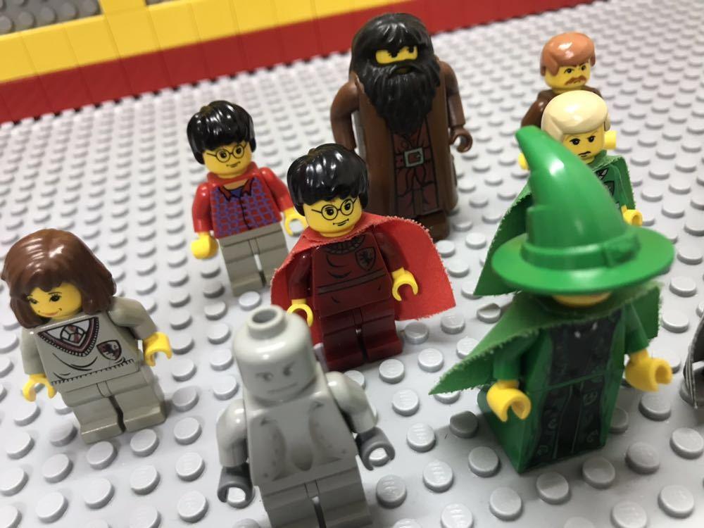 ☆ハリーポッター☆ レゴ ミニフィグ 大量10体 マグゴナガル先生 マダム・フーチ ハグリッド など LEGO 人形 ホグワーツ城_画像3