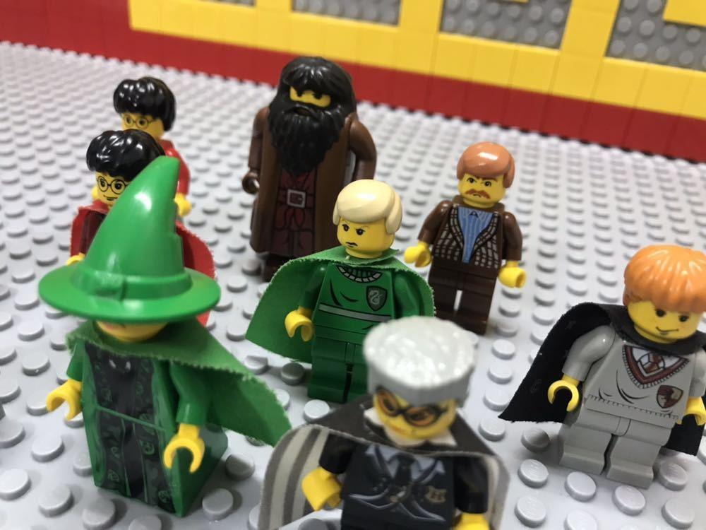 ☆ハリーポッター☆ レゴ ミニフィグ 大量10体 マグゴナガル先生 マダム・フーチ ハグリッド など LEGO 人形 ホグワーツ城_画像2