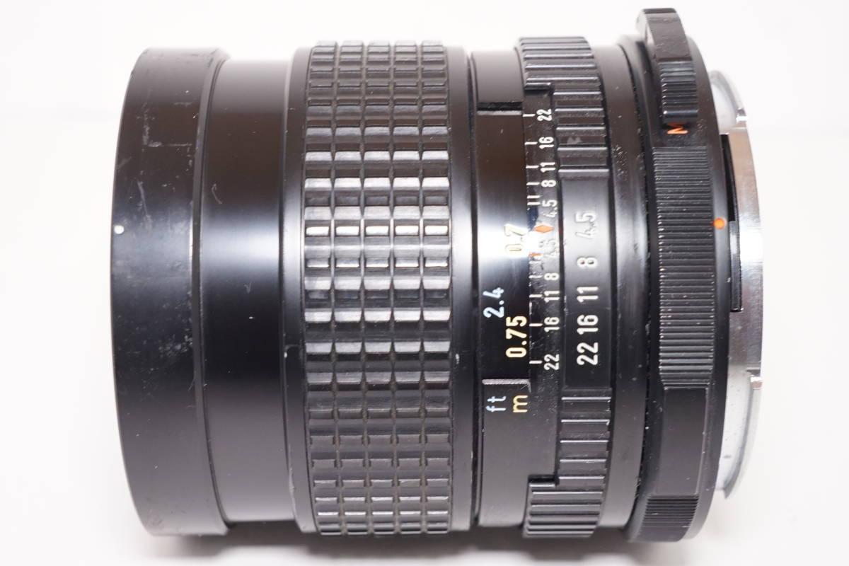 1850■最落なしで売り切り■ペンタックス■SMC PENTAX 67 75mm F4.5■_画像5