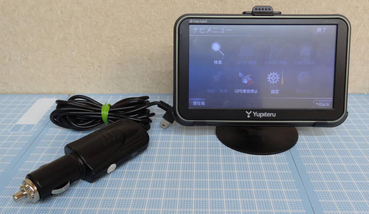 ユピテル ポータブルナビ YPL514si ジャンク品