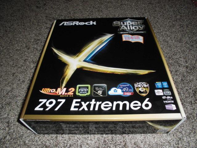 正常動作品!ASRock Z97 Extreme6 LGA1150 BIOS最新更新済み 付属品あり