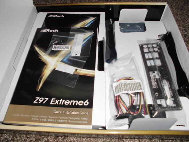 正常動作品!ASRock Z97 Extreme6 LGA1150 BIOS最新更新済み 付属品あり_画像2