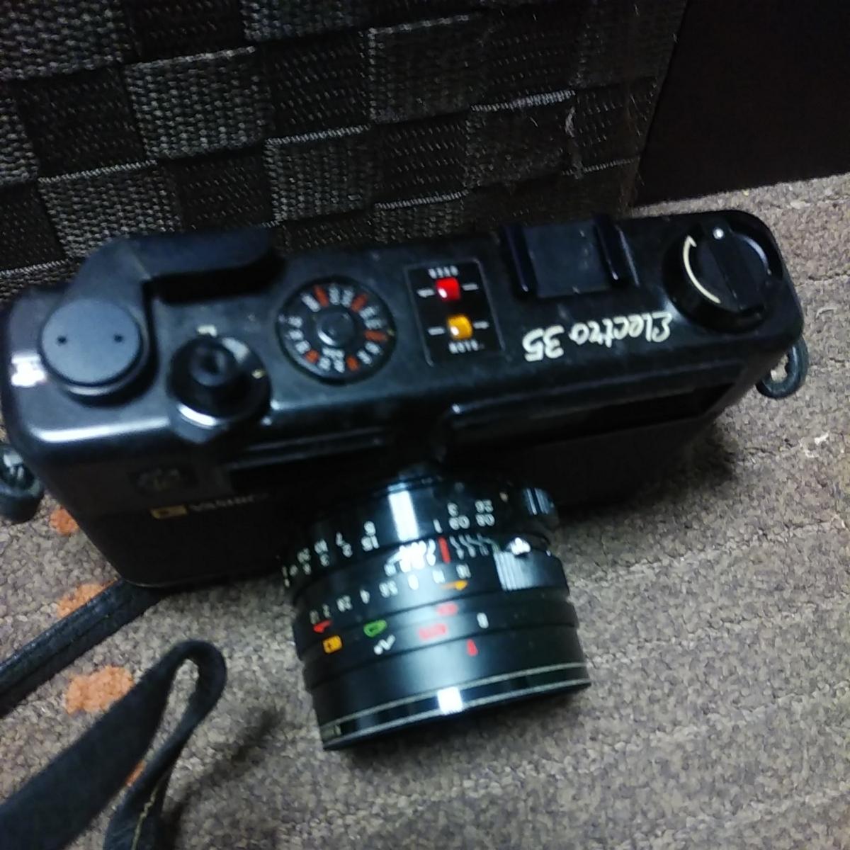 ヤシカ エレクトロ 35 GT/Electro 35 シャッターのみ動作確認済 used!_画像2