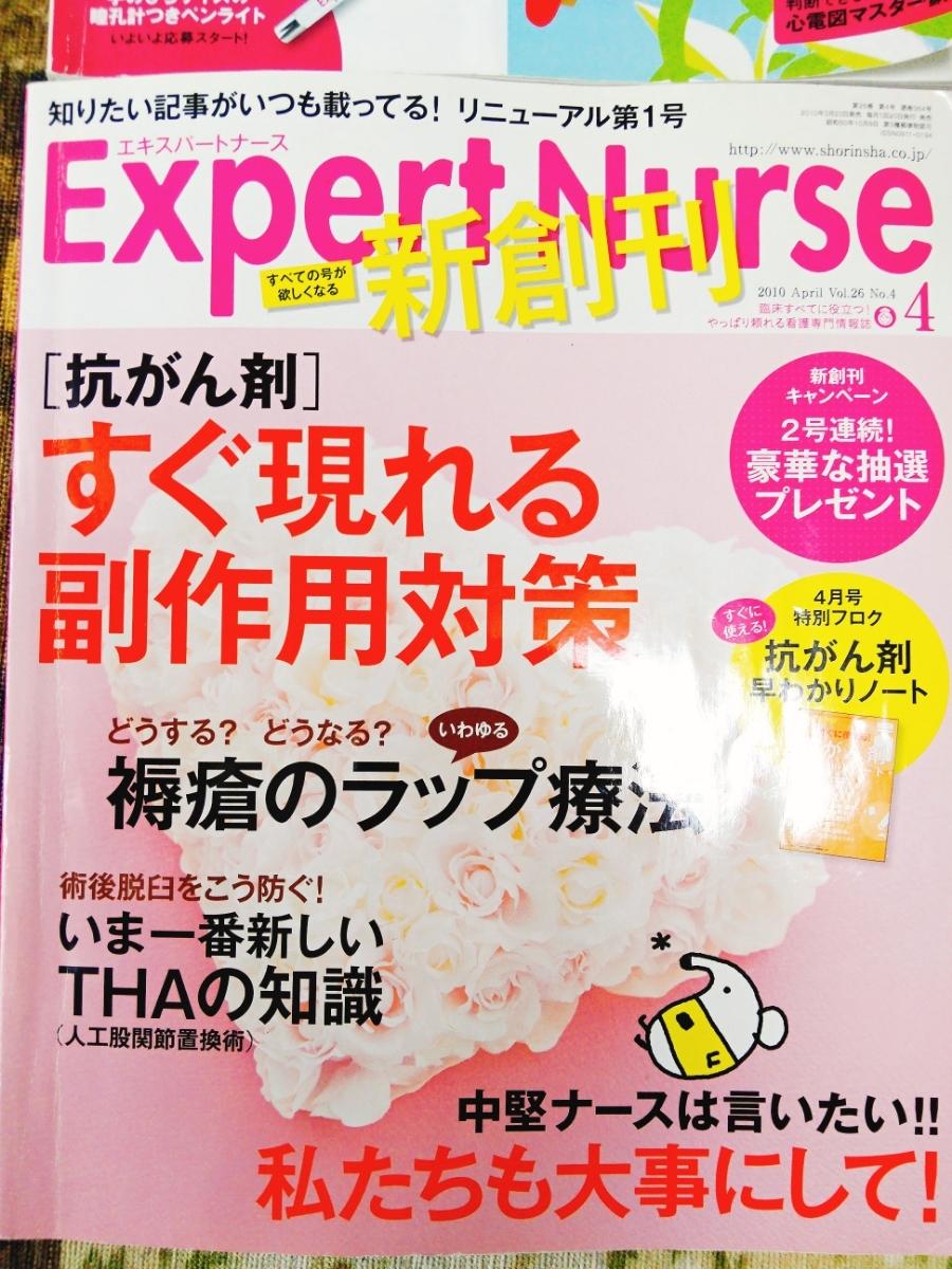 エキスパートナース Expert Nurse 4冊セット 雑誌 看護 参考書 抗がん剤 副作用 注射 点滴_画像2