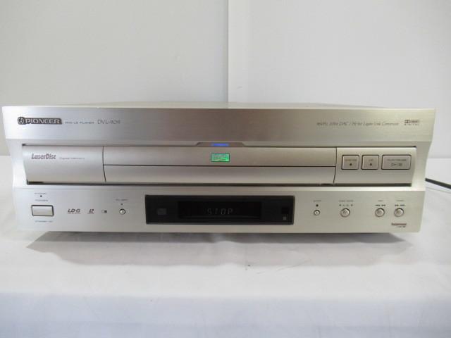 ■中古現状売■ジャンク PIONEER/パイオニア DVD/LDプレーヤー Model:DVL-909 通電確認のみ トレー開かず_画像5