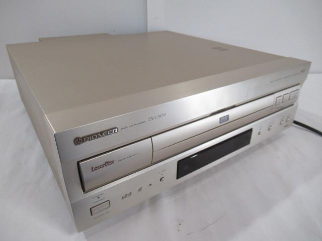 ■中古現状売■ジャンク PIONEER/パイオニア DVD/LDプレーヤー Model:DVL-909 通電確認のみ トレー開かず