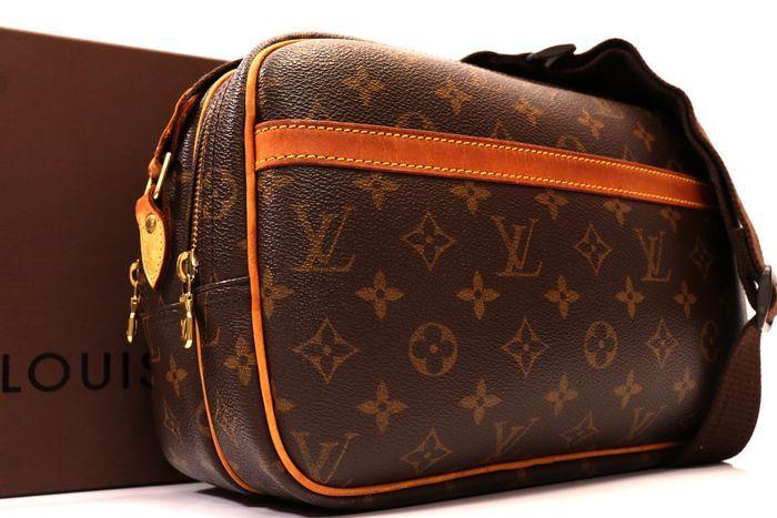【美品】ルイヴィトン Louis Vuitton モノグラム リポーターPM ショルダーバッグ  斜め掛け かばん 男女兼用 定価約16万