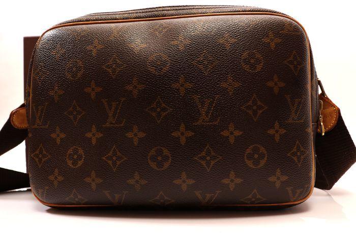 【美品】ルイヴィトン Louis Vuitton モノグラム リポーターPM ショルダーバッグ  斜め掛け かばん 男女兼用 定価約16万_画像2