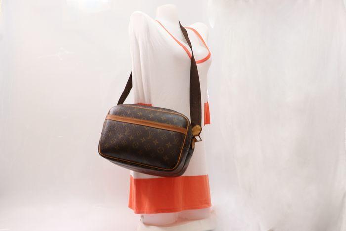 【美品】ルイヴィトン Louis Vuitton モノグラム リポーターPM ショルダーバッグ  斜め掛け かばん 男女兼用 定価約16万_画像10