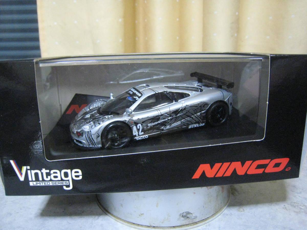 NINCO Vintage:1/32 マクラーレン F1 GTR 新品・未開封