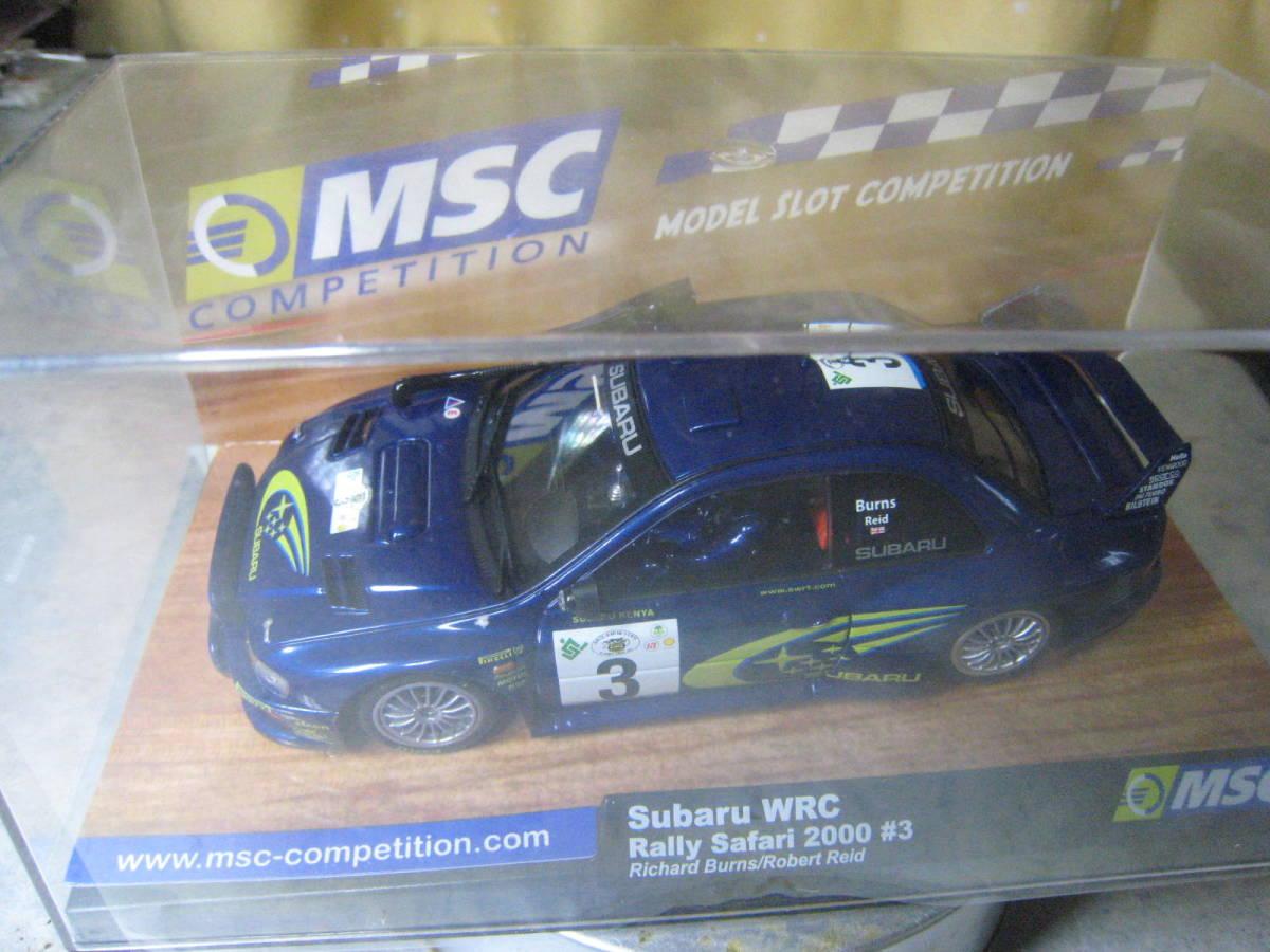 MSC 1/32 Subaru Impreza WRC #3 2000 新品・未開封_画像6