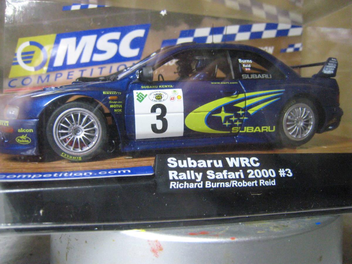 MSC 1/32 Subaru Impreza WRC #3 2000 新品・未開封