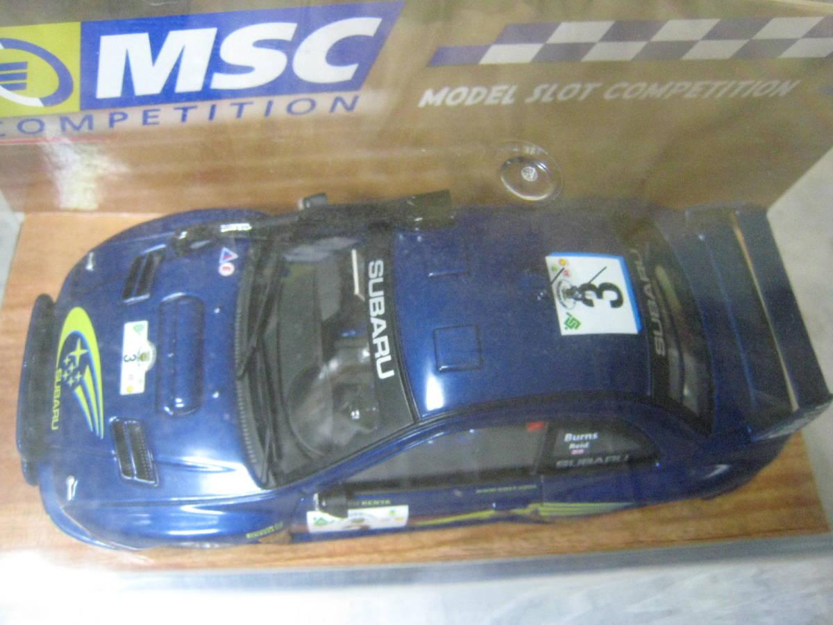 MSC 1/32 Subaru Impreza WRC #3 2000 新品・未開封_画像2