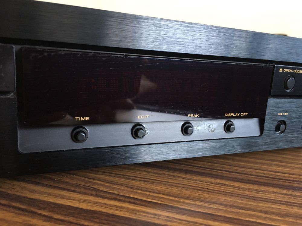 送料無料 marantz マランツ CD5001 CDデッキ CDプレーヤー リモコンあり_画像3