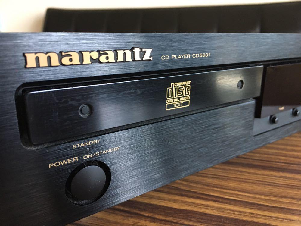 送料無料 marantz マランツ CD5001 CDデッキ CDプレーヤー リモコンあり_画像2