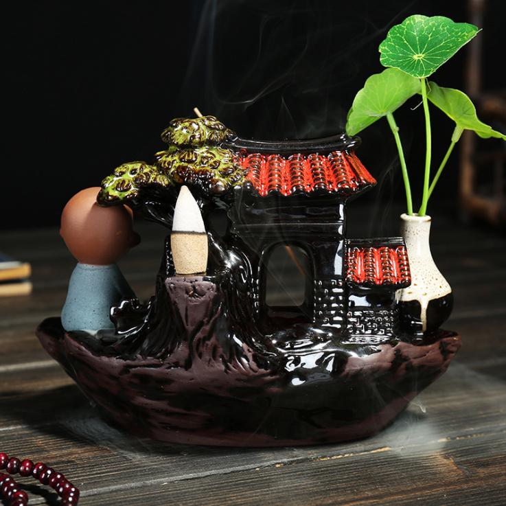 陶磁器香炉 時代 美品2_画像5