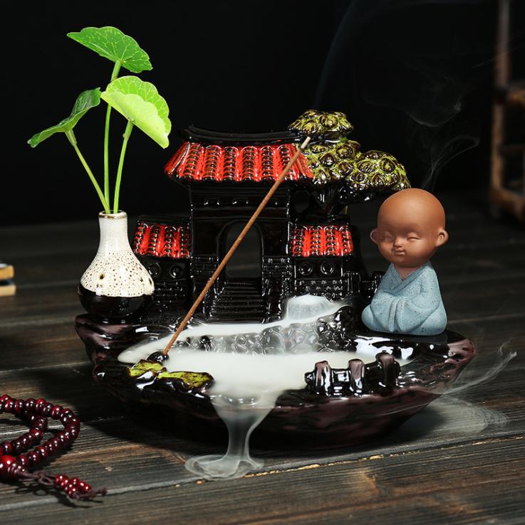 陶磁器香炉 時代 美品2