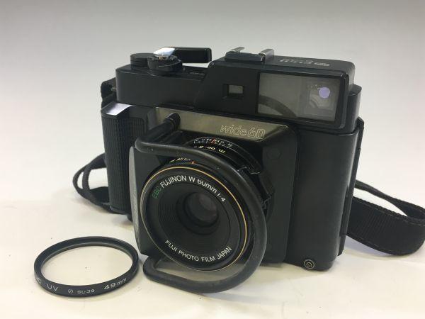 M503-55/富士フィルム FUJI GS645S Professional 6x4.5 EBC FUJINON W 60mm 1:4 中判カメラ ★中古