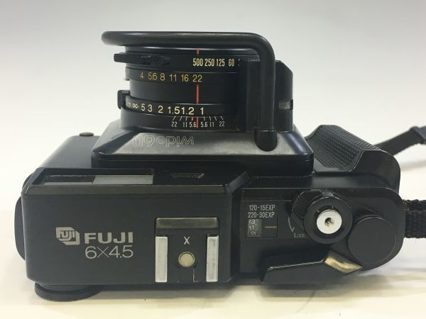 M503-55/富士フィルム FUJI GS645S Professional 6x4.5 EBC FUJINON W 60mm 1:4 中判カメラ ★中古_画像3