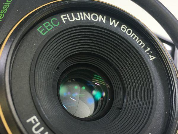 M503-55/富士フィルム FUJI GS645S Professional 6x4.5 EBC FUJINON W 60mm 1:4 中判カメラ ★中古_画像9