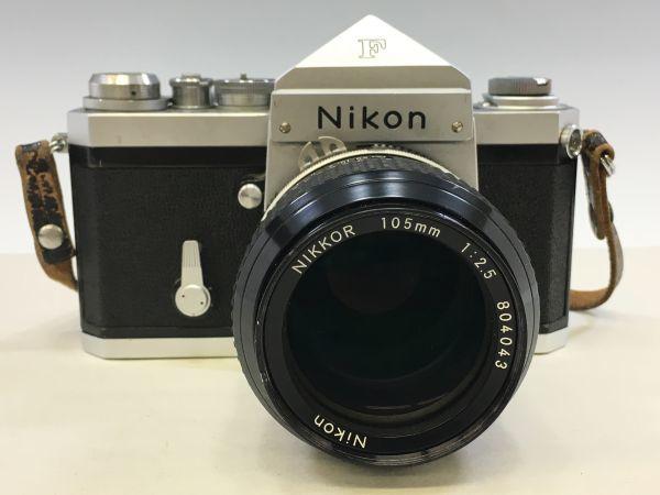 M504-50/SY10000 ニコン Nikon F NIKKOR 1:2.5 105㎜ 一眼レフ ★中古カメラ マニュアルカメラ フィルムカメラ_画像2