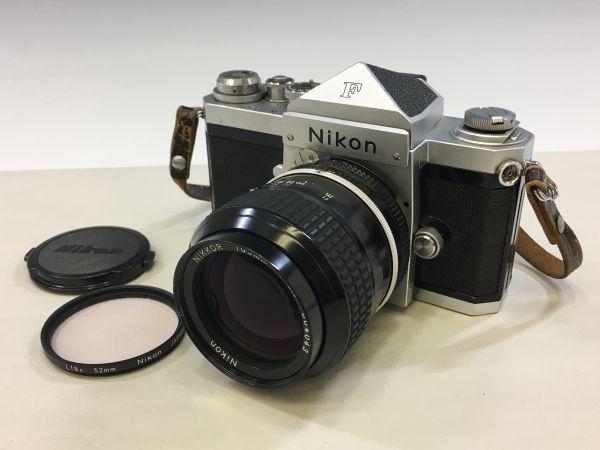 M504-50/SY10000 ニコン Nikon F NIKKOR 1:2.5 105㎜ 一眼レフ ★中古カメラ マニュアルカメラ フィルムカメラ