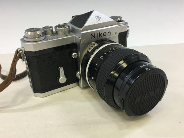 M504-50/SY10000 ニコン Nikon F NIKKOR 1:2.5 105㎜ 一眼レフ ★中古カメラ マニュアルカメラ フィルムカメラ_画像9
