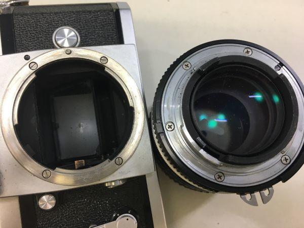 M504-50/SY10000 ニコン Nikon F NIKKOR 1:2.5 105㎜ 一眼レフ ★中古カメラ マニュアルカメラ フィルムカメラ_画像7