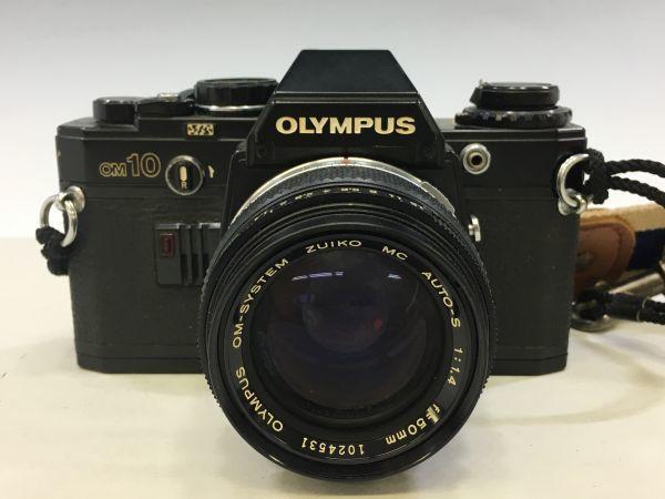 M504-41/SY3000 オリンパス OLYMPUS OM10 ZUIKO MC AUTO-S f=50mm 1:1.4 ★中古カメラ _画像2