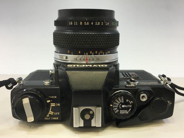 M504-41/SY3000 オリンパス OLYMPUS OM10 ZUIKO MC AUTO-S f=50mm 1:1.4 ★中古カメラ _画像3