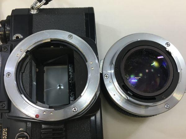 M504-41/SY3000 オリンパス OLYMPUS OM10 ZUIKO MC AUTO-S f=50mm 1:1.4 ★中古カメラ _画像6