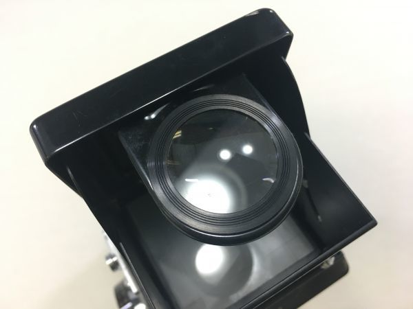 M504-35/SY3000 ミノルタ MINOLTA オートコードⅢ AUTOCORD ROKKOR 1:3.5 f=75mm 《ケース付》★中古カメラ ニ眼_画像9