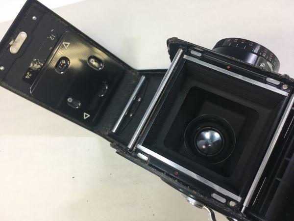 M504-35/SY3000 ミノルタ MINOLTA オートコードⅢ AUTOCORD ROKKOR 1:3.5 f=75mm 《ケース付》★中古カメラ ニ眼_画像10